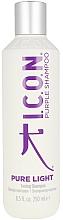 Fragrances, Perfumes, Cosmetics Toning Shampoo - I.C.O.N. Pure Light Toning Shampoo
