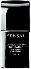 Fragrances, Perfumes, Cosmetics Illuminating Foundation - Kanebo Sensai Luminous Sheer Foundation