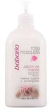 Fragrances, Perfumes, Cosmetics Hand Liquid Soap - Babaria Rosa Mosqueta Hand Soap