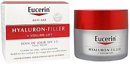Fragrances, Perfumes, Cosmetics Day Cream for Dry Skin - Eucerin Hyaluron-Filler+Volume-Lift Day Cream SPF15