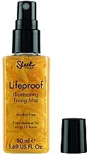 Fragrances, Perfumes, Cosmetics Makeup Fixing Spray - Sleek MakeUP Lifeproof Illuminating Fixing Mist