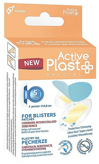 Blisters Pacthes - Ntrade Active Plast Special For Blisters Pathes — photo N1