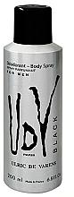Fragrances, Perfumes, Cosmetics Ulric de Varens UDV Black Deodorant - Antiperspirant Deodorant