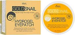 Fragrances, Perfumes, Cosmetics Gold & Snail Mucin Hydrogel Eye Patches - Ekel Ample Hydrogel Eyepatch