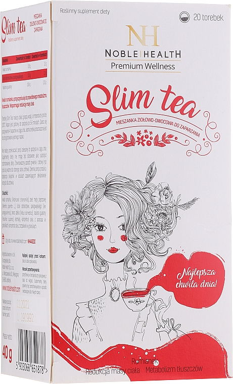 Slimming Tea - Noble Health Slim Tea