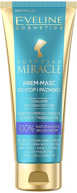 Foot Cream Mask - Eveline Cosmetics Egyptian Miracle
