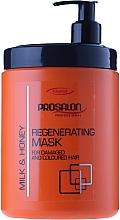 Fragrances, Perfumes, Cosmetics Regenerating Milk & Honey Mask - Prosalon Hair Care Mask