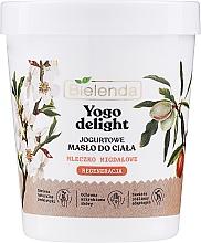 Fragrances, Perfumes, Cosmetics Moisturizing Almond Milk Body Butter - Bielenda Yogo Delight Almond Milk Body Butter