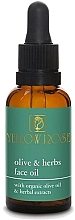 Fragrances, Perfumes, Cosmetics Face Oil - Yellow Rose Olive And Herbs Face Oil