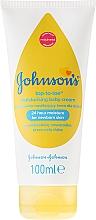 Fragrances, Perfumes, Cosmetics Moisturizing Kids Cream - Johnson's Baby Top-To-Toe Cream