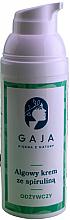 Fragrances, Perfumes, Cosmetics Nourishing Spirulina Face Cream - Gaja
