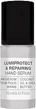 Fragrances, Perfumes, Cosmetics Hand Seum - Alessandro International Spa Lumiprotect & Repairing Hand Serum