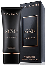 Fragrances, Perfumes, Cosmetics Bvlgari Man In Black - After Shave Balm