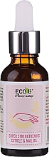 Fragrances, Perfumes, Cosmetics Nail and Cuticle Firming Oil - Eco U Super Strengthening Cuticle & Nail Oil