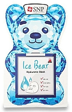 Fragrances, Perfumes, Cosmetics Hyaluronic Acid Face Mask - SNP Ice Bear Hyaluronic Mask
