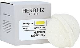 Fragrances, Perfumes, Cosmetics Ylang-Ylang Bath Bomb - Herbliz CBD