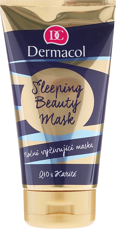 Nourishing Facial Night Mask - Dermacol Sleeping Beauty Mask