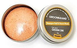 Fragrances, Perfumes, Cosmetics Beard Shampoo Bar - Groomarang Shampoo Ball & Beard Wash