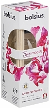 """Fragrances, Perfumes, Cosmetics Reed Diffuser """"Rose and Amber"""" - Bolsius Fragrance Diffuser True Moods Pure Romance"""