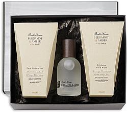 Fragrances, Perfumes, Cosmetics Bath House Bergamot & Amber - Set (edc/100ml + f/wash/100ml + f/cr/100ml)