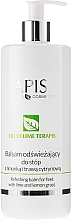 Fragrances, Perfumes, Cosmetics Refreshing Foot Balm - APIS Professional Refreshing Balm For Feet With Lime And Lemon Grass