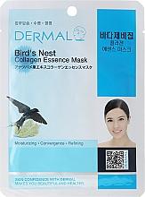 Fragrances, Perfumes, Cosmetics Collagen and Bird Nest Extract Mask - Dermal Bird's Nest Collagen Essence Mask