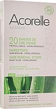 Fragrances, Perfumes, Cosmetics Aloe & Royal Jelly Body Wax Strips - Acorelle Hair Removal Strips