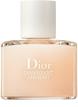 Fragrances, Perfumes, Cosmetics Gentle Polish Remover - Dior Dissolvant Abricot Gentle Polish Remover
