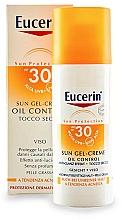 Fragrances, Perfumes, Cosmetics Sun Cream Gel for Oily and Acne-Prone Skin - Eucerin Sun Gel-Cream Oil Control SPF30