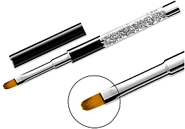 Fragrances, Perfumes, Cosmetics Manicure Brush 11, oval - Elisium
