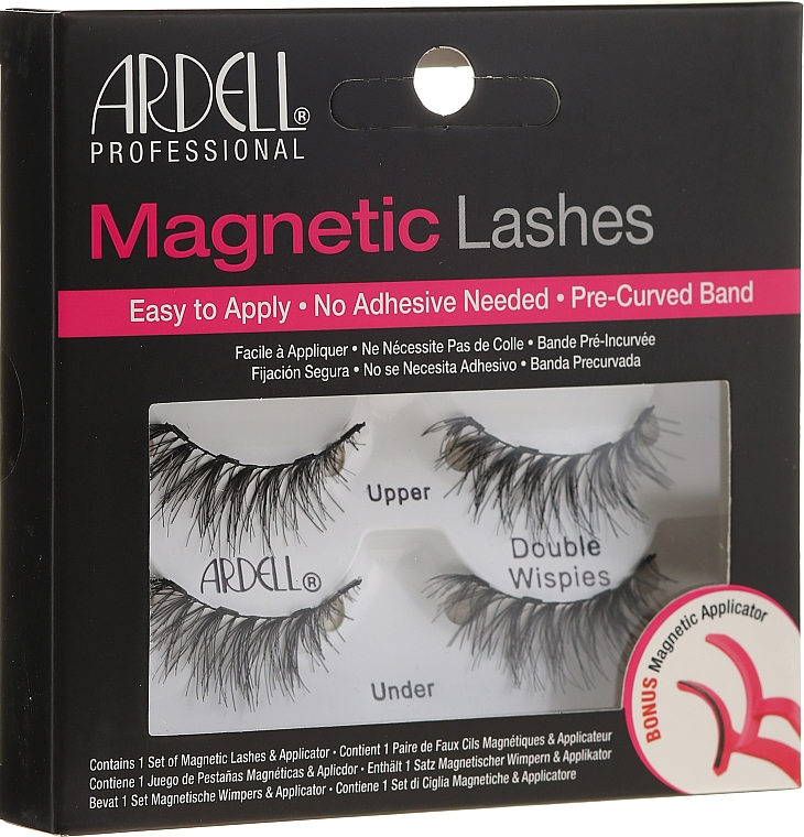 False Lashes - Ardell Magnetic Strip Lash Double Wispies