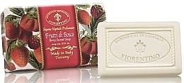 """Fragrances, Perfumes, Cosmetics Natural Soap """"Berry"""" - Saponificio Artigianale Fiorentino Berry Scented Soap"""