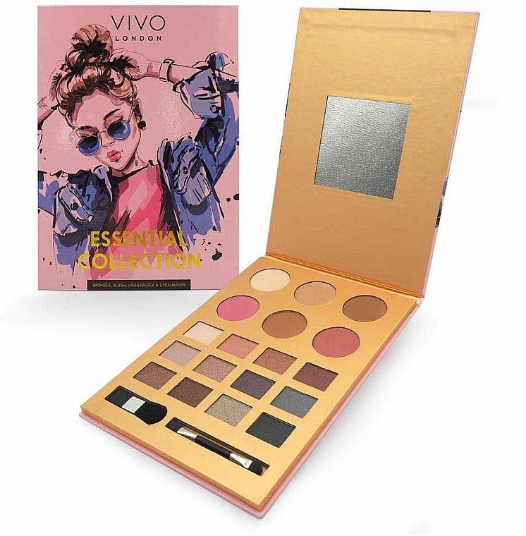 Makeup Palette - Vivo London Essential Collection Palette