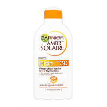 Fragrances, Perfumes, Cosmetics Protection Lotion SPF 30 - Garnier Ambre Solaire High Protection Lotion