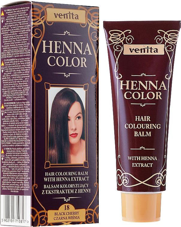 Henna Extract Hair Balm - Venita Henna Color