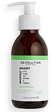 Fragrances, Perfumes, Cosmetics Cleansing Gel for Face - Revolution Skincare Angry Mood Soothing Cleansing Gel