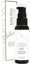 Fragrances, Perfumes, Cosmetics Charcoal Toothpaste - Eclat Skin London Pro-Diamond White Activated Charcoal Toothpaste