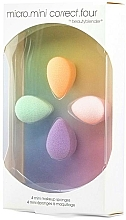 Fragrances, Perfumes, Cosmetics Mini-Sponge Set - Beautyblender Micro.Mini Correct.Four