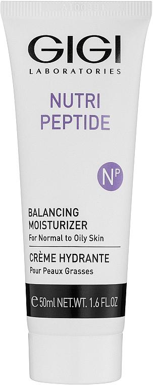 Peptide Cream for Oily & Combination Skin - Gigi Nutri-Peptide Balancing Moisturizer Oily Skin — photo N1