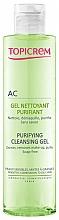 Fragrances, Perfumes, Cosmetics Sebo Regulating Cleansing Gel - Topicrem Purifying Cleansing Gel