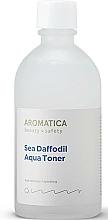 Fragrances, Perfumes, Cosmetics Moisturizing Sea Shell Toner - Aromatica Sea Daffodil Aqua Toner