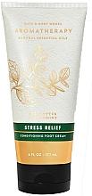 Fragrances, Perfumes, Cosmetics Eucalyptus & Mint Foot Cream - Bath and Body Works Stress Relief Eucalyptus Spearmint Conditioning Foot Cream