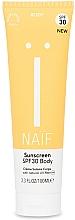Fragrances, Perfumes, Cosmetics Body Sunscreen Cream - Naif Sunscreen Body Spf30