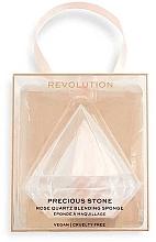 Fragrances, Perfumes, Cosmetics Makeup Sponge - Makeup Revolution Precious Stone Diamond Blender&Case