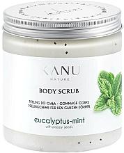 "Fragrances, Perfumes, Cosmetics Foot Scrub ""Eucalyptus & Mint"" - Kanu Nature Eucalyptus With Mint Body Scrub"