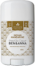 "Fragrances, Perfumes, Cosmetics Soda Deodorant ""Indian Mandarine"" (plastic) - Ben & Anna Natural Soda Deodorant Indian Mandarine"