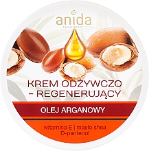 Fragrances, Perfumes, Cosmetics Argan Oil Nourishing Cream - Anida Pharmacy Argan Oil Nourishing Cream