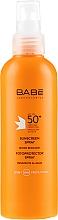 Fragrances, Perfumes, Cosmetics Sunscreen Spray SPF 50+ - Babe Laboratorios Sunscreen Spray SPF 50+