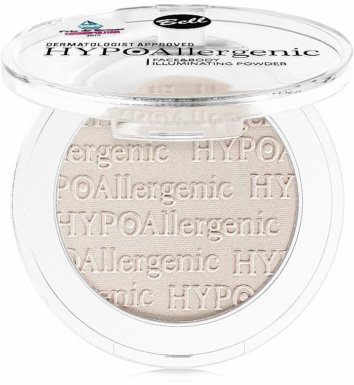 Hypoallergenic Face & Body Highlighting Powder - Bell HypoAllergenic Face&Body Illuminating Powder