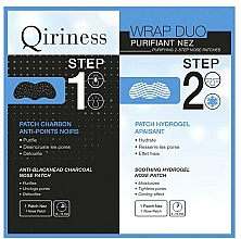 Fragrances, Perfumes, Cosmetics Nose Patches - Qiriness Purifiant Nez 2-Step Nose Patches